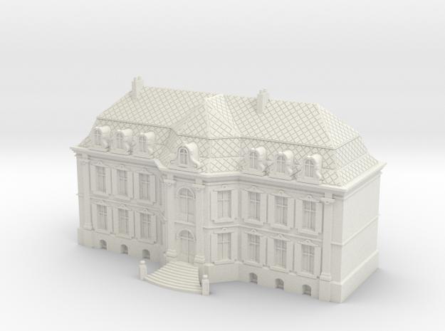 1:350 Chaeteau Roucourt Main Building
