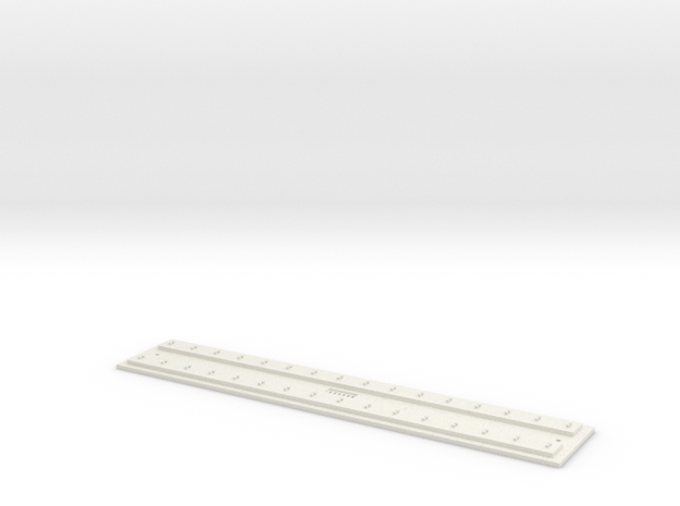 O gauge Direct F 12 track FULL in White Strong & Flexible