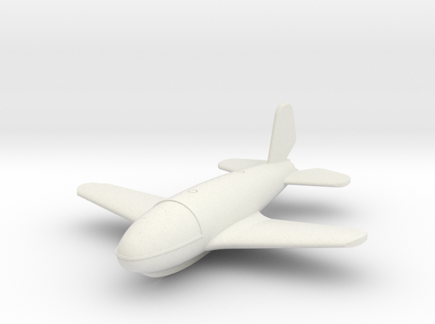 (1:144) von Braun VTO second version in White Natural Versatile Plastic