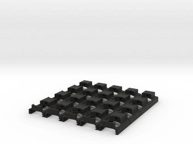 Hop-Up Adjuster for AASAS-01 (20 Count) in Black Natural Versatile Plastic