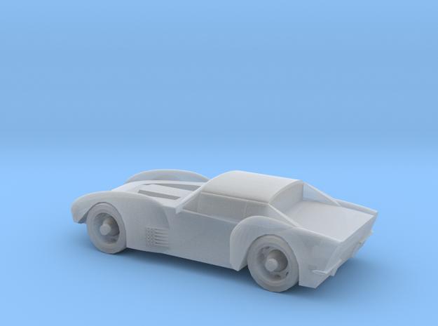 Corvett Stingrey Scale TT in Smooth Fine Detail Plastic