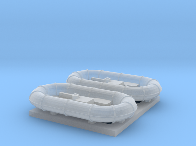 144_Carley_Float_Pair in Smooth Fine Detail Plastic