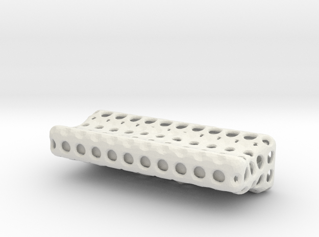 Shapeways_Ventilfederwaage-Teile in White Natural Versatile Plastic