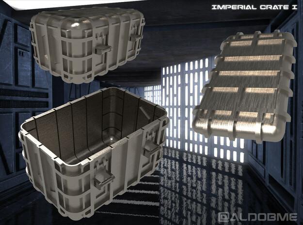 Star Wars Imperial Crate 1 (2 Parts) in Black Natural Versatile Plastic