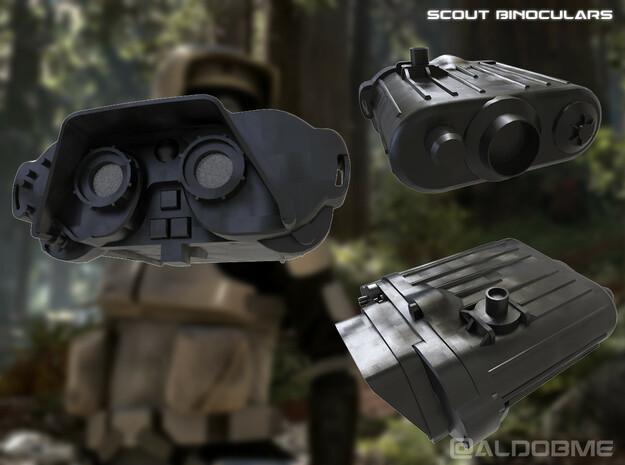 Imperial Binoculars in Smoothest Fine Detail Plastic