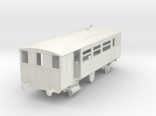 o-43-kesr-steam-railcar-1 in White Natural Versatile Plastic