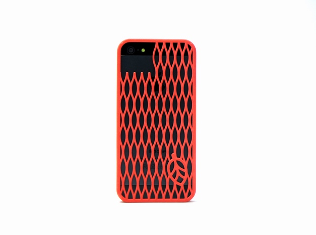 leaf case in Red Processed Versatile Plastic