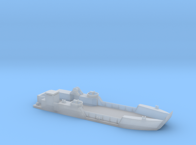 Vietnam River Boat LCT-6 1:285 in Smooth Fine Detail Plastic