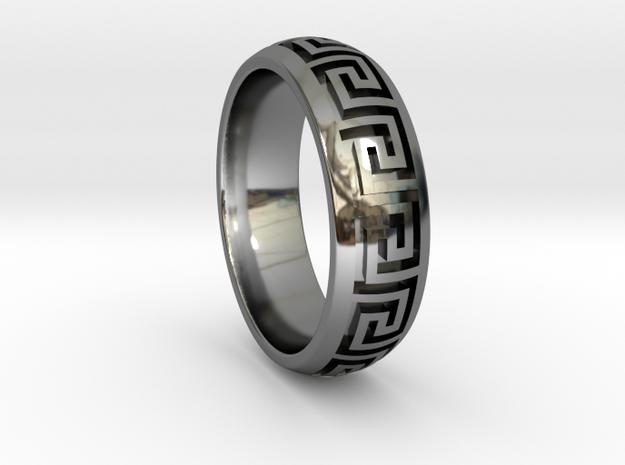 Greek Pattern Ring 01