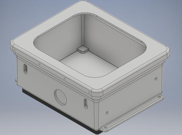 1/2 eaglemoss 1:8 delorean BTTF Flux capacitor  in White Processed Versatile Plastic