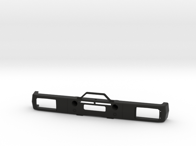 Stoßstange Bumper Tamiya 1:14 Mercedes SK / NG 183 in Black Natural Versatile Plastic