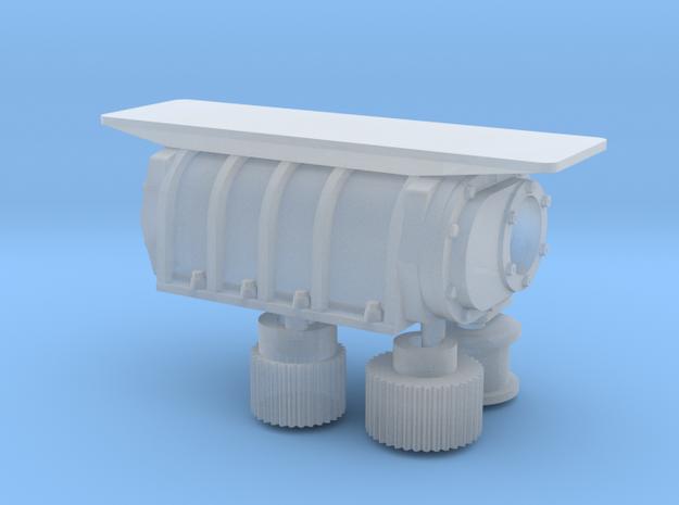 Predator carb 1/25 x3 mount w/blower in Smooth Fine Detail Plastic