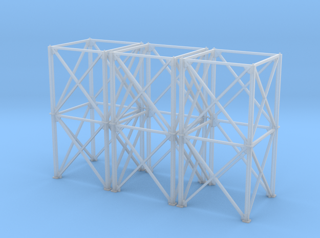 1/64 10' Support Tower 60' in Smooth Fine Detail Plastic