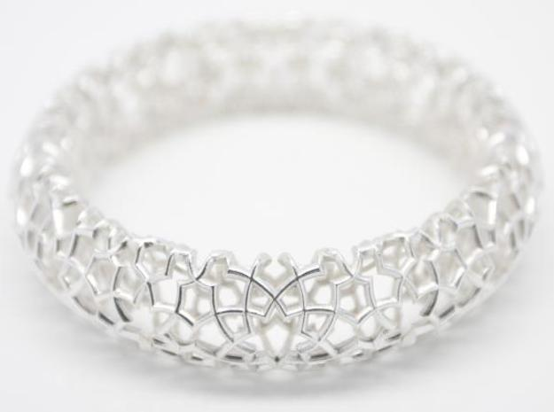 Cosma Silver Bangle in Polished Silver