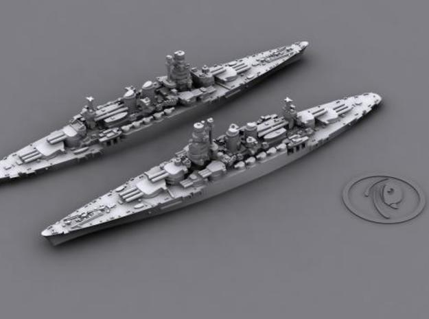 1/4800 IT BB Caio Duilio [1941] (x2) 3d printed