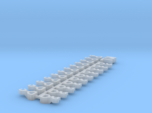 1:220 - Couplers for Marklin Long in Smoothest Fine Detail Plastic