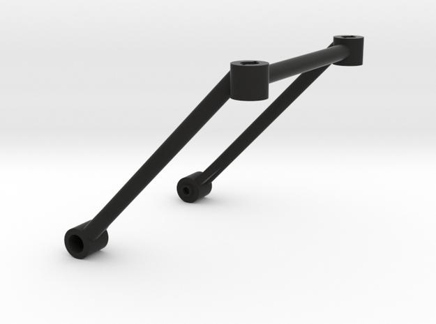 Tamiya M03 Rear Body Post Support (M03 Posts) in Black Natural Versatile Plastic