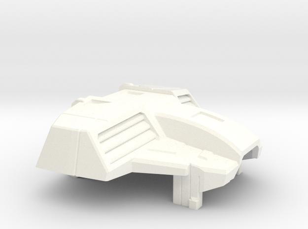 Kfir Heavy Interceptor Chestplate for PoTP Starscr in White Strong & Flexible Polished