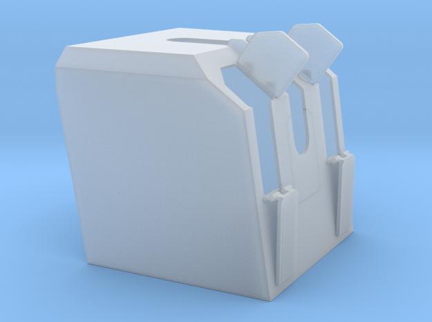 Hütte 105 mm SK C 32 in 1 zu 100 in Smooth Fine Detail Plastic