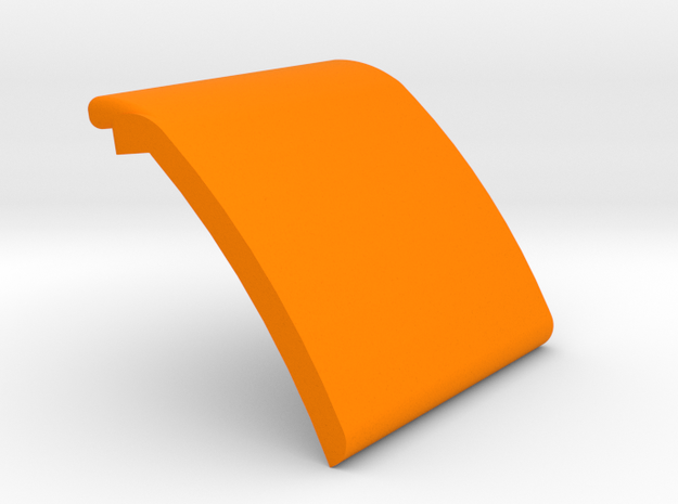 External MastGate plate in Orange Processed Versatile Plastic