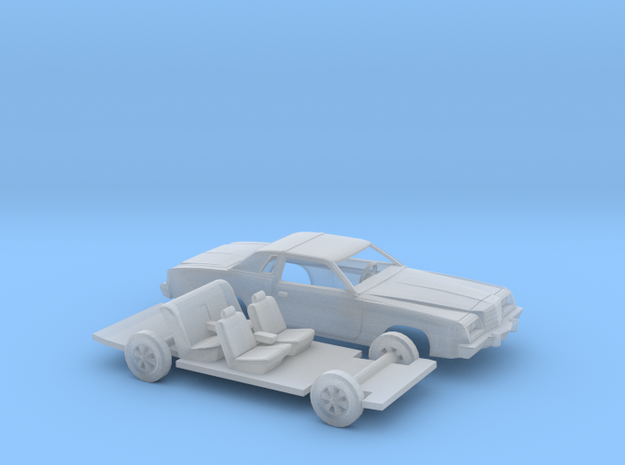 1/87 1979 Dodge Magnum Open Headlights Kit