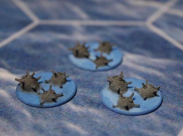 Mine counters 3d printed
