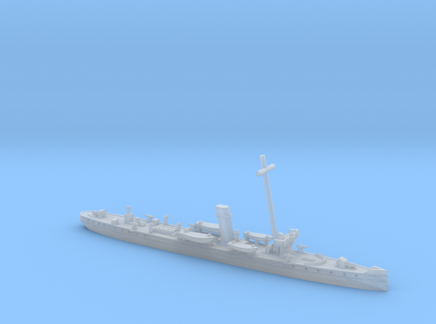 SMS Planet 1/1200 (with mast) in Smooth Fine Detail Plastic
