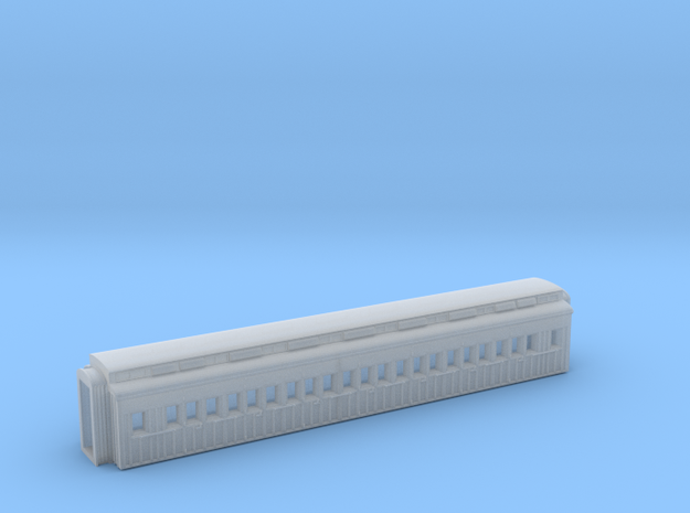 HBVB - Victorian Railways BV Second Class Car in Smooth Fine Detail Plastic