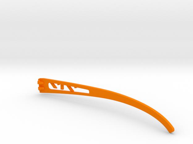 Vanderpool VisionSPEC2,3,4 Right Temple VER717 REV in Orange Processed Versatile Plastic