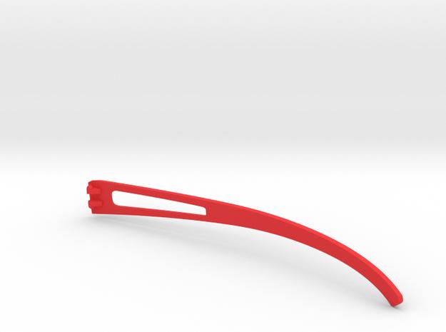 Vanderpool VisionSPEC2,3,4 Right Temple VER0 REV2 in Red Processed Versatile Plastic