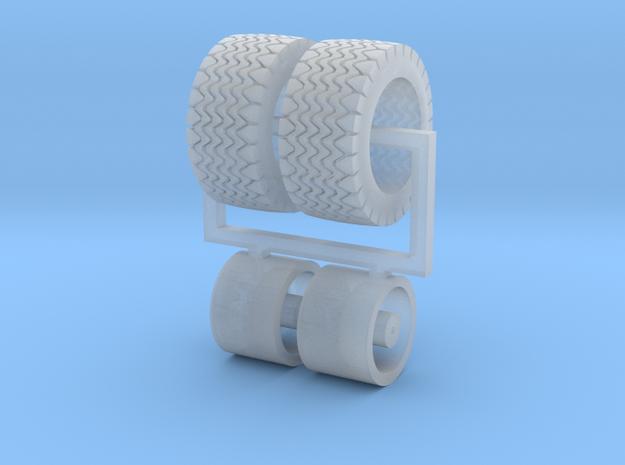 10mm dia x 7mm wide six spoke wheel with 16mm OD t