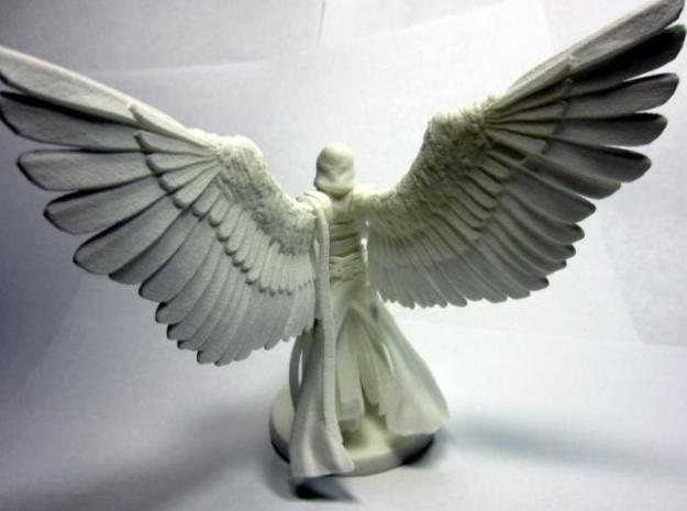 Giver of Mercy 3d printed Back - Unpainted