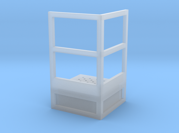 1/64 Stair Platform for 10' Tower in Smooth Fine Detail Plastic