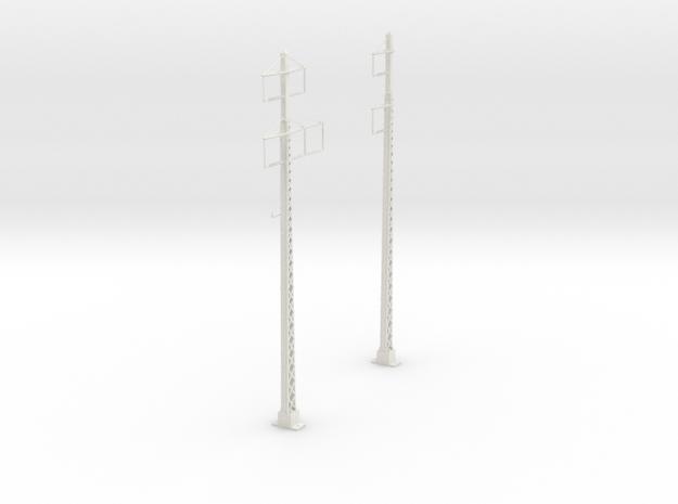 tapered lattice cat pole span_2PHASE_2-3PHASE