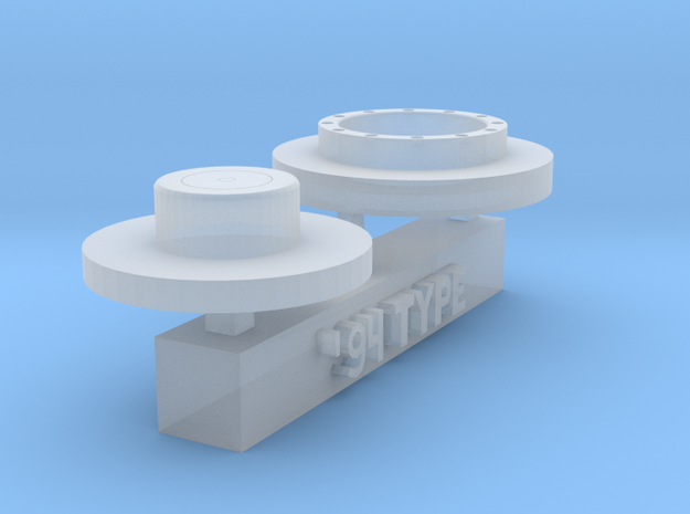 1/20 F1 fuel valve 1994 type in Smoothest Fine Detail Plastic