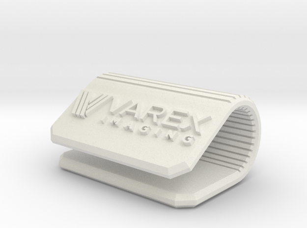 VAREX IMAGING Corporate Webcam Clip in White Natural Versatile Plastic