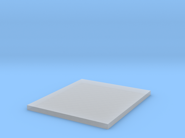 Texture Mat - Square Scale Mail in Smooth Fine Detail Plastic