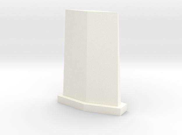 UHF Antenna in White Processed Versatile Plastic