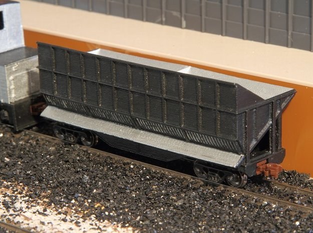 N-scale Quench Car in Smooth Fine Detail Plastic