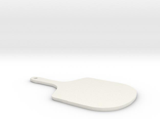 Pizza Peel in White Natural Versatile Plastic