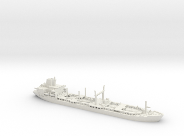 1/700 RFA Bayleaf in White Natural Versatile Plastic