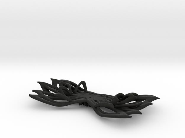 Bow tie part 1 base. ROAD FC in Black Natural Versatile Plastic
