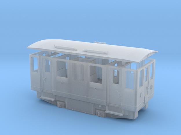 AD1 H0e / 009 diesel railcar in Smooth Fine Detail Plastic