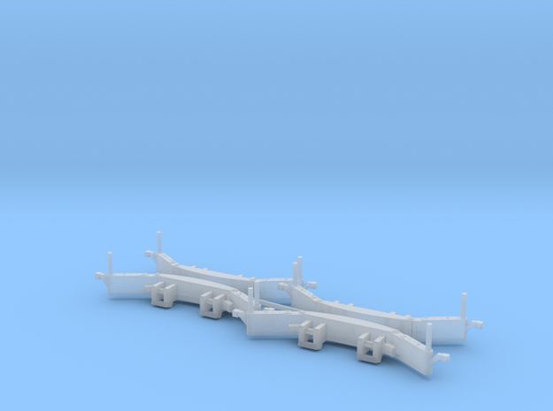 1/87 H0 TractorBumper (4er Set) in Smooth Fine Detail Plastic