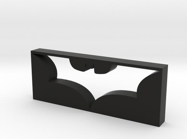 Dark Knight Logo in Black Natural Versatile Plastic