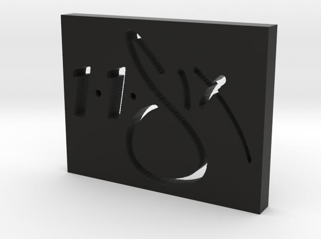 116 Clique Logo in Black Natural Versatile Plastic