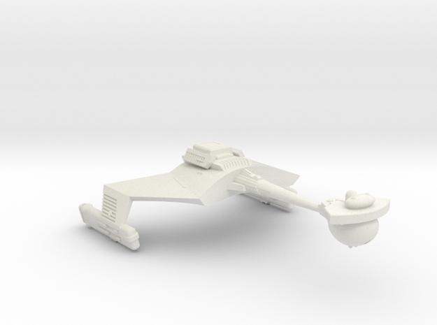 3788 Scale Klingon D7VB Strike Carrier WEM in White Strong & Flexible