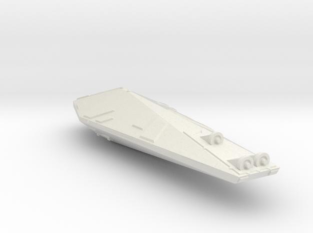 3125 Scale Hydran Outrider Survey Ship CVN in White Strong & Flexible