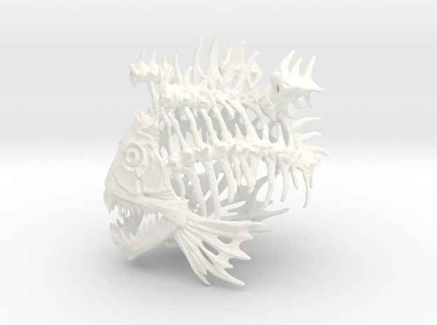 BJD Fish Skeleton Helmet