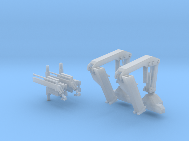 Hiab Hoist 1-64 Scale 2 Pack V2.0 in Smooth Fine Detail Plastic